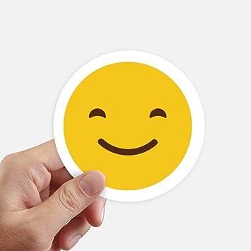 Amazoncom Diythinker Smile Yellow Cute Online Chat Emoji