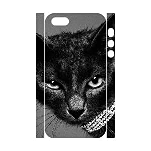 HXYHTY Cell phone Protection Cover 3D Case Lovely Cat For Iphone 5,5S