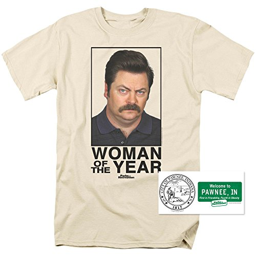 parks-rec-ron-swanson-woman-of-the-year-t-shirt-exclusive-stickers-xxx-large