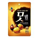 Cj Chestnut Peeled 80G x 1 Product of Korea 맛밤