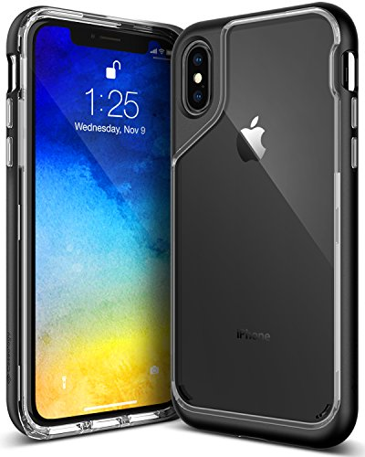 Caseology [Skyfall Series] iPhone X Case - [Clear Back/Premium Finish] - Soft Stone