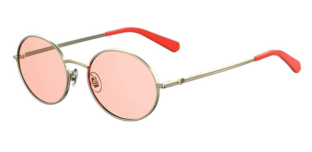 Love Moschino MOL013/S Gafas de sol, Rojo (Coral), 52.0 para ...