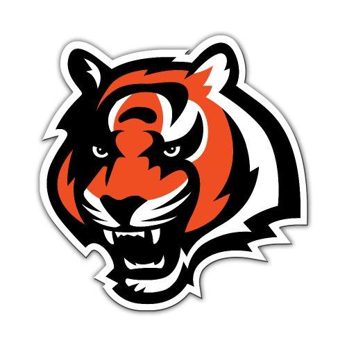 NFL Cincinnati Bengals Vinyl Logo Magnet (Nfl Vinyl Bengals)