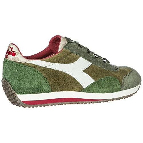 Evo Verde Sneakers Uomo Heritage Diadora Equipe Scarpe Camoscio Nuove 7fzgwnOq