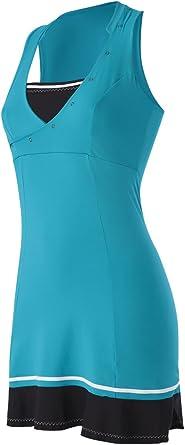 Naffta Tenis Padel - Vestido para Mujer, Color Esmeralda Oscuro ...