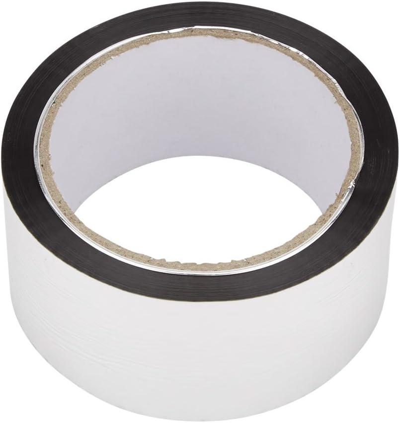 50m Ruban Adh/ésif Aluminium pour Rouleau Isolant Biard
