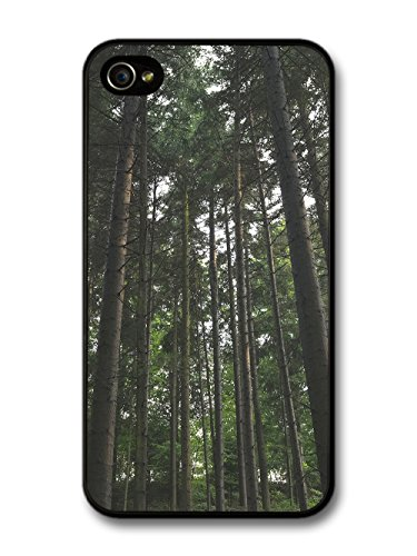 Hipster Design Trees Forest Green Inspirational Photography case for iPhone 4 4S