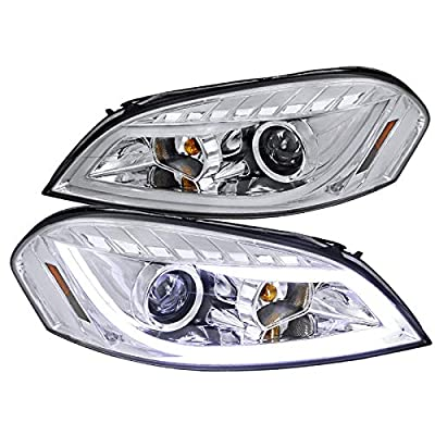 Spec-D Tuning 2LHP-IPA06-TM Chrome Projector Headlight (Halo Led): Automotive