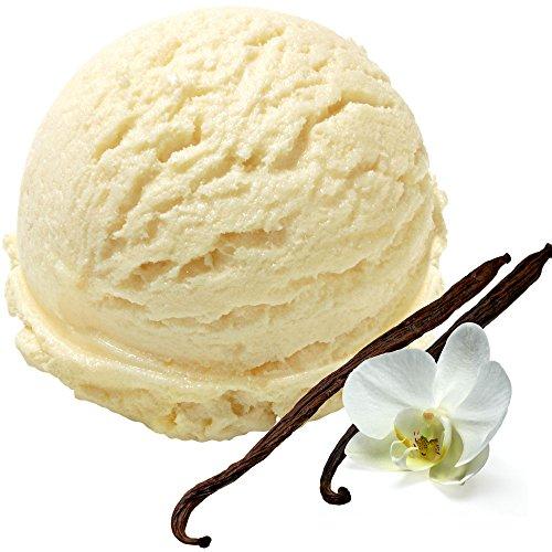 Vanille Geschmack 1 Kg Gino Gelati Eispulver für Speiseeis Softeispulver Speiseeispulver