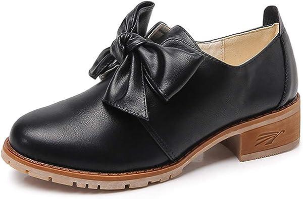 chaussure richelieu femme talon plat