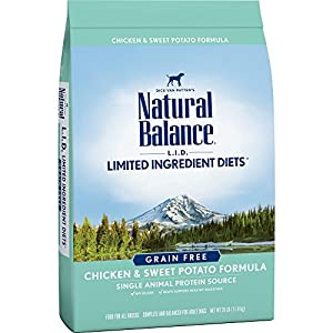 Natural Balance Limited Ingredient Diets Chicken & Sweet Potato Formula Dry Dog Food, 26 Pounds, Grain Free 73