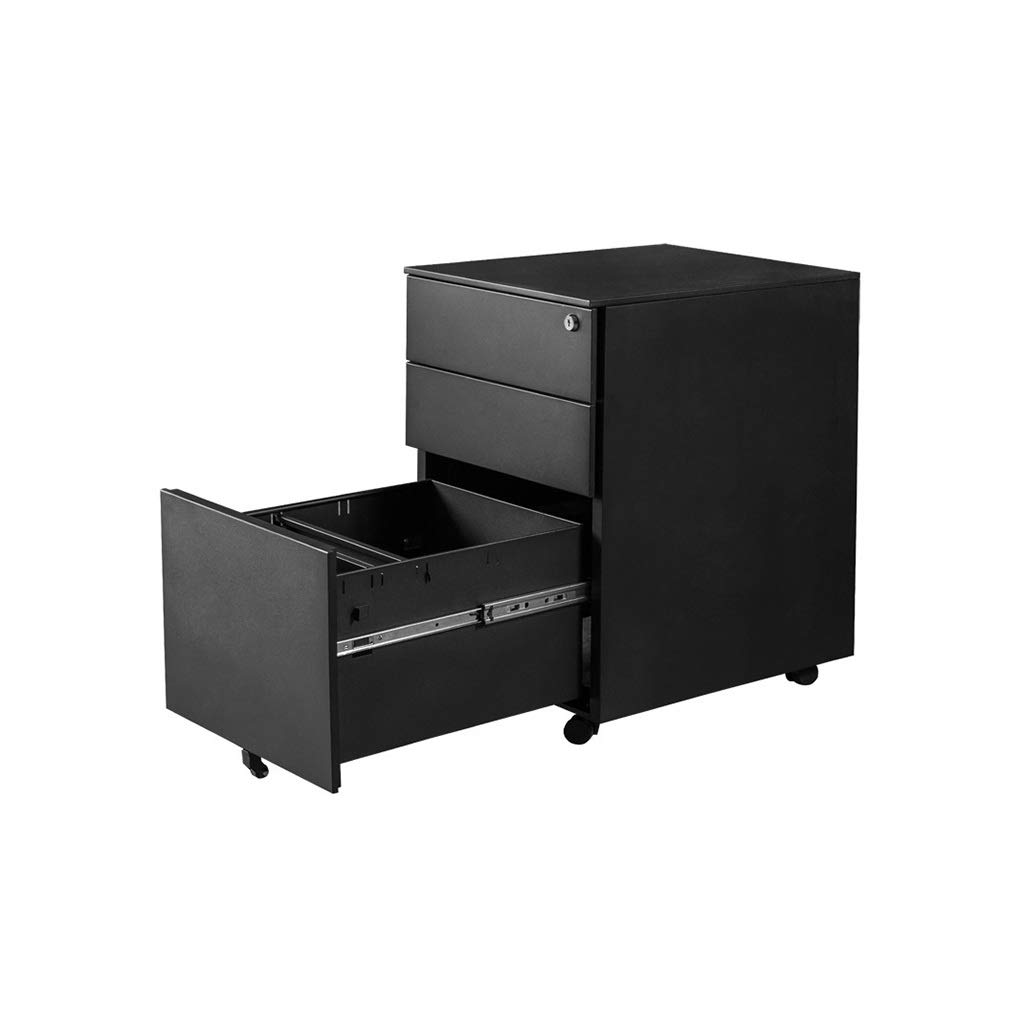 File Cabinet, Desktop Extended Drawer Office Organizer (Steel Plate) 405062CM (Color : A)