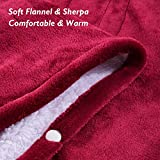 MaxKare Electric Blanket Heated Throw Flannel
