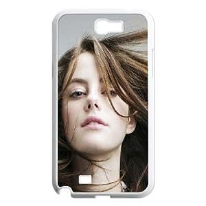 Samsung Galaxy N2 7100 Cell Phone Case White Kaya Scodelario Actress Sexy Hair LSO7858834