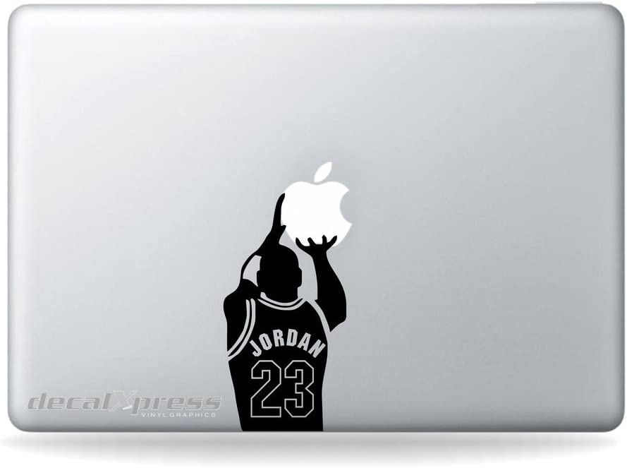 Jordan 23- Decal Sticker for MacBook, Air, Pro All Models