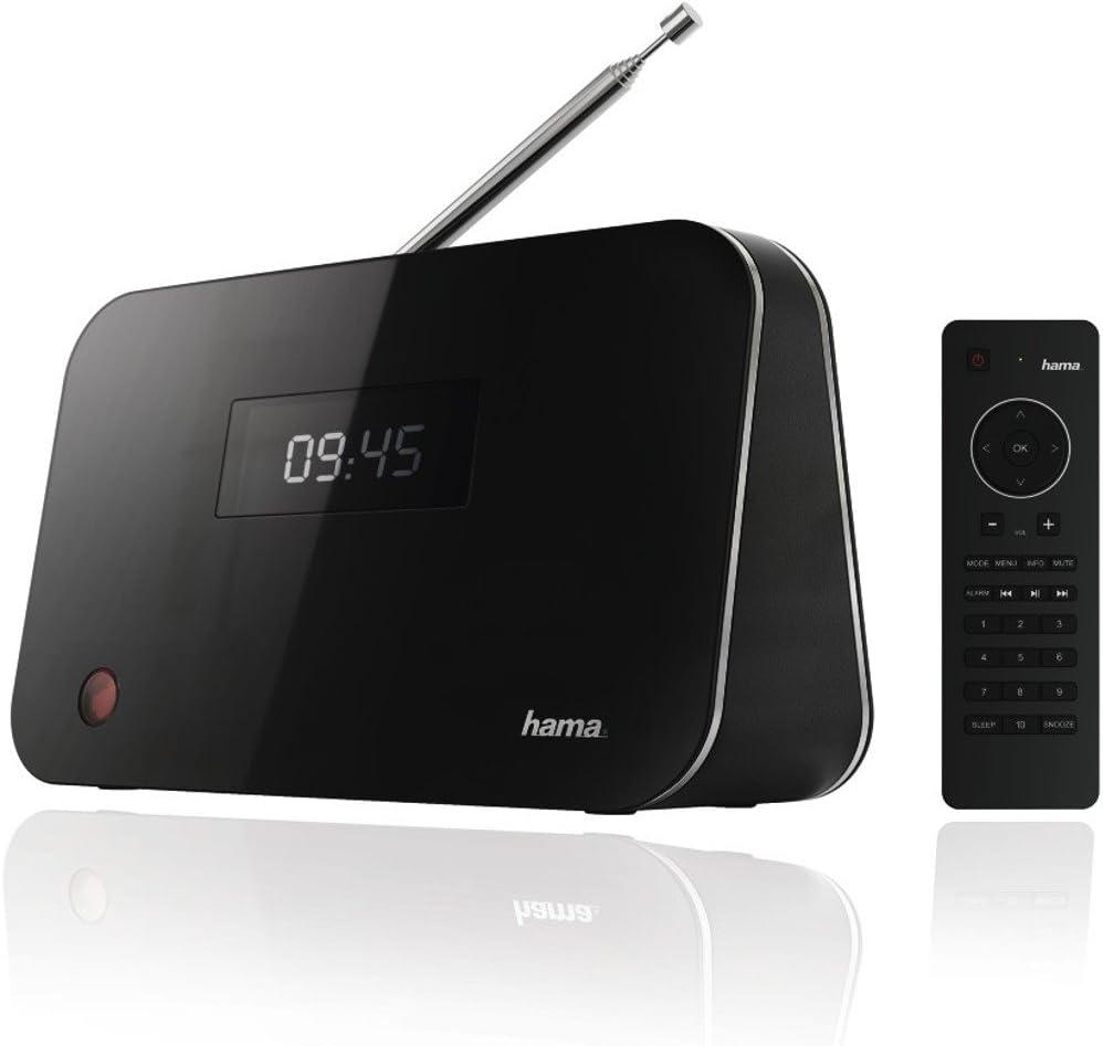 Bluetooth Hama DT60 Tuner Digitale DAB DAB+FM Nero