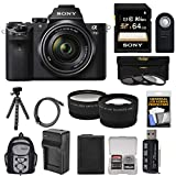 Sony Alpha A7 II Digital Camera & 28-70mm FE OSS Lens with 64GB Card + Backpack +...