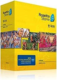 Rosetta Stone Korean Level 1-3 Set
