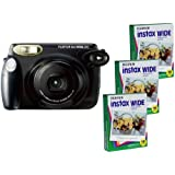 Fujifilm FU64-IN210K30 Instax 210 Instant Photo Camera Kit and 3 Fujifilm Instax Wide Film with 10 Exposures