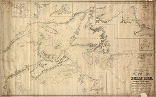 1864-old-historical-map-cape-cod-to-belle-isle-nautical-chart-us-canada-various-sizes-reprint