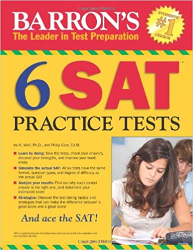 Buy barrons 6 sat practice tests book online at low prices in india buy barrons 6 sat practice tests book online at low prices in india barrons 6 sat practice tests reviews ratings amazon fandeluxe Choice Image