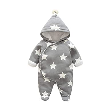 33573243a Amazon.com  Fairy Baby Newborn Boys Girls Romper Outwear Winter ...