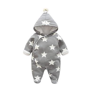 33573243a Amazon.com  Fairy Baby Newborn Boys Girls Romper Outwear Winter ...