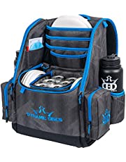Dynamic Discs Commander Backpack Disc Golf Bag | 20 Disc Capacity | Two Deep Storage Pockets | Two Water Bottle Holders | Frisbee Disc Golf Backpack Bag