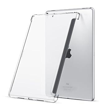 ESR Funda iPad Pro 10.5 Tapa Trasnparente para la Parte Trasera [Acopla con Smart Keyboard de Apple] para Apple iPad Pro 10.5 - Transparente