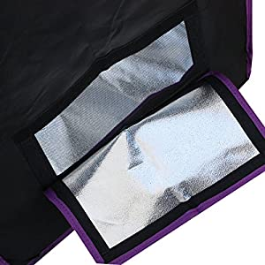 Apollo Horticulture Reflective Mylar Hydroponic Grow Tent for Plant Growing Size 48x48x80 inch