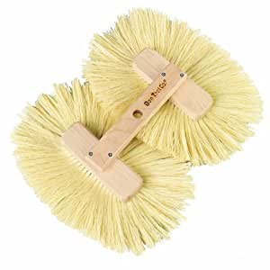Bon 15-256 8-1/2-Inch by 13-1/2-Inch Double Crows Foot Texture Brush