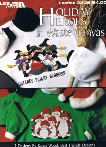 Holiday Heroes in Waste Canvas, Leaflet 2209.