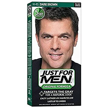 Amazon.com : Just For Men Original Formula Men\'s Hair Color, Dark ...
