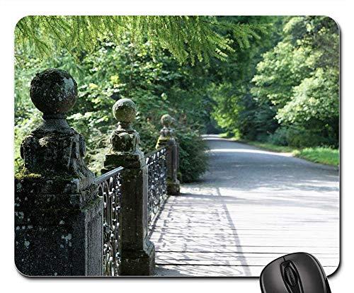 Mouse Pad - Danube Bridge Donaueschingen Park Garden Source