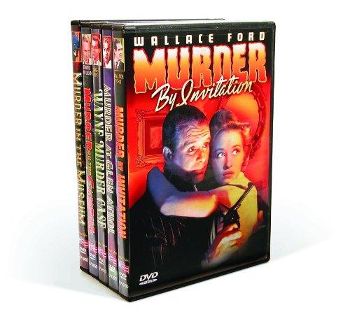 Home Entertainment Products Dvd (Vintage Hollywood Murder Mysteries: Murder By Invitation / Murder At Glen Athol / The Wayne Murder Case / Murder On The Campus / Murder In The Museum)