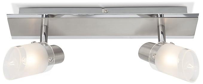 Brilliant G15729/77 Sally - Lámpara de techo halógena (2 ...