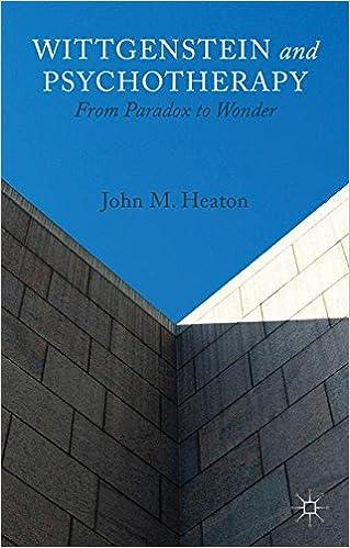 Wittgenstein and Psychotherapy: From Paradox to Wonder