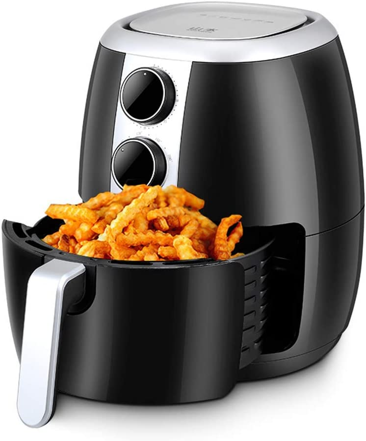 Freidora neumática 35 l de gran capacidad freidora eléctrica frita máquina para papas fritas freidora sin humo: Amazon.es: Hogar