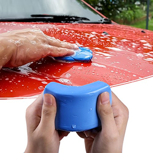 1PCS Blue Wash Mud - Car Clay Bar Magic Detailing Cleaner for Auto Wash, 100g YHLVE