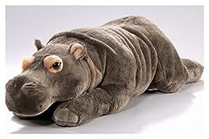 Peluche - Hipopótamo (felpa, 42cm)