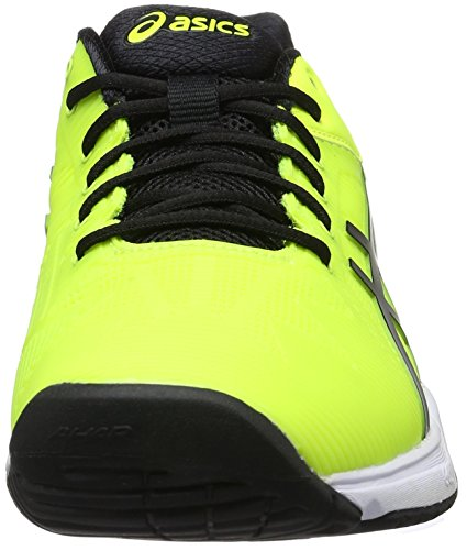 Asics black Speed De Gel Yellow 3 white Chaussures Homme Multicolore solution Tennis safety RrPRgqw