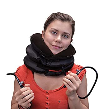 Neck Heal 4-Way Controllable Cervical Neck Stretch Decompression Traction Device by BodyRyzm LifeSciences - Faster Neck Pain Relief and Cervical Spine Alignment