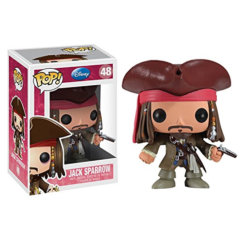Funko POP Disney 3 3/4 Inch Series 4 Jack Sparrow Action Figure Dolls Toys
