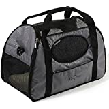 Gen7Pets Carry-Me Fashion Pet Carrier, Large, Gray Shadow