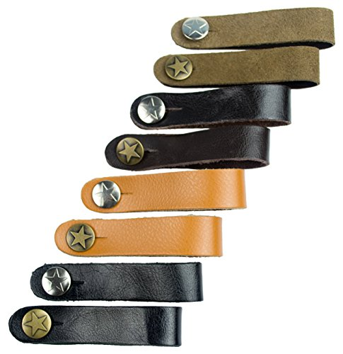 Leather Acoustic Guitar Strap Button product image