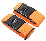 Luggage Strap With Lock Adjustable Suitcase Belt Travel Accessories #L051