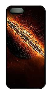 iPhone 5 5S Case The Destruction Of Earth PC Custom iPhone 5 5S Case Cover Black