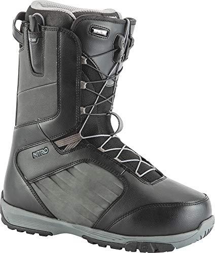 TLS Schwarz Charcoal Nitro Snowboards Boots Herren Anthem RFq6qPx