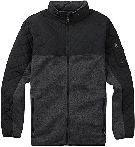 - Burton Men's Pierce Fleece Sweaters, True Black Heather, Large