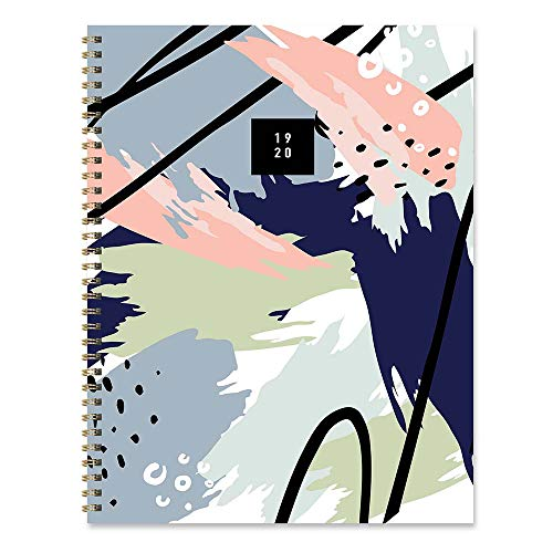 Abstract Art Painting Large Daily Weekly Monthly 2020 Planner: July 2019 - June 2020 (Academic School Year, Student Planner)